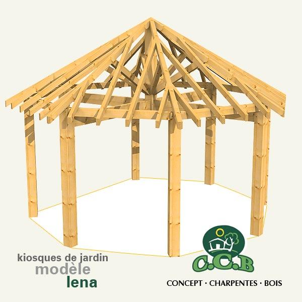 Kiosques de jardin en bois, fabricant dans le 64 65 40 32 nay ...