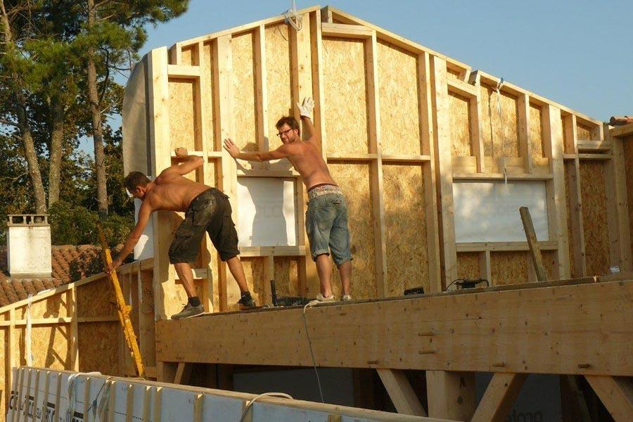 construction maisons ossatures bois fermettes 64 65 40 32 pyr n es. Black Bedroom Furniture Sets. Home Design Ideas