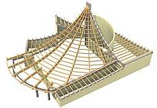 Fabricant Charpente traditionnelle en bois 64 65 40 32 pyrénées béarn